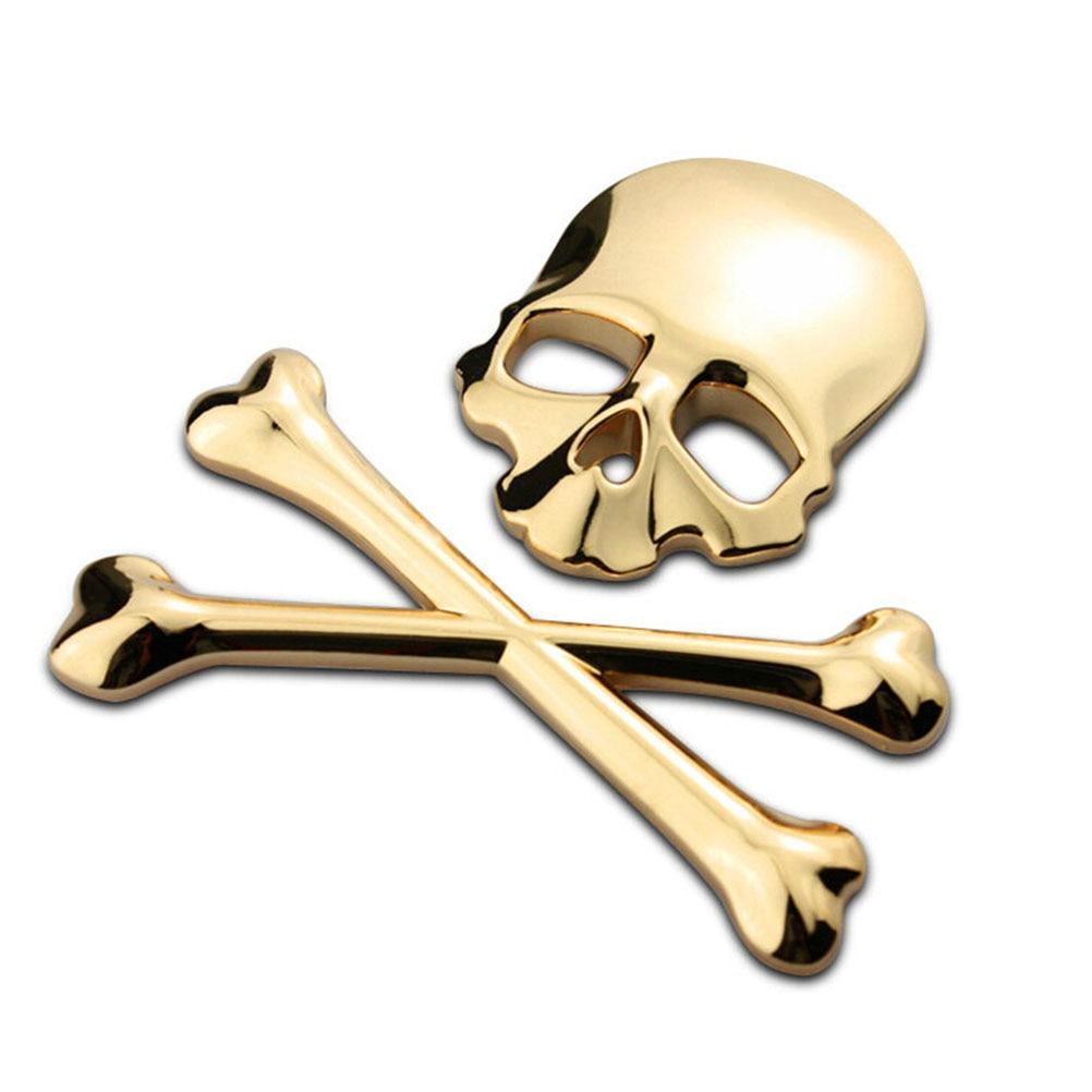 Aliexpress.com : Buy New 3D 3M Skull Metal Skeleton