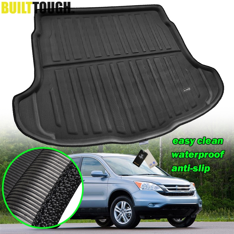 1pcs New Leather Car Rear Trunk Cargo Mat Cargo Liner Cargo Tray Boot Mat Boot Liner Boot Tray Custom Fit For Honda CR-V CRV 2012 2013 2014 2015 2016