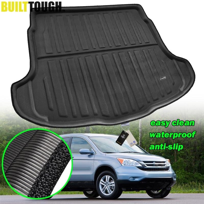Accessories For Honda CR-V CRV 2007 2008 2009 2010 2011 Car Rear Trunk Liner Cargo Boot Mat Floor Tray Mud Kick Protector Carpet