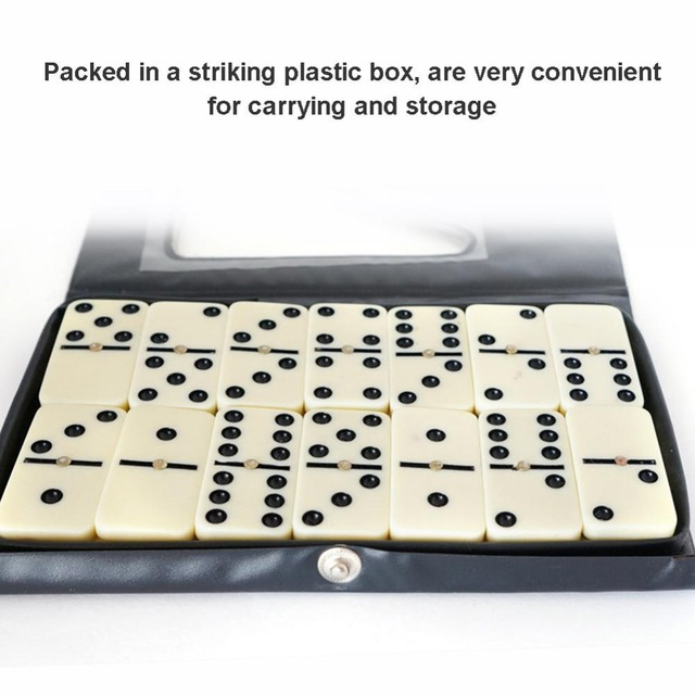 28Pcs/Set Quality Domino Board Games Domino Toys Travel Funny Table Game 2019 Kid Children Educational Toys For Children Gifts