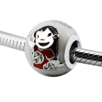 Serve para Charms Pandora Pulseiras 100% 925 Esterlina-Prata-Jóias Lilo & Stitch Contas Com Esmalte Misturado Livre grátis
