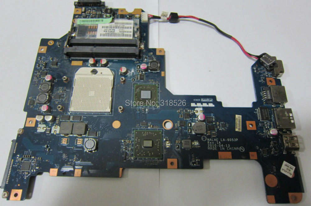 On sale K000103970 LA-6053P laptop motherboard for Toshiba Satellite L675D Integrated DDR3 Full Tested 50% off ship