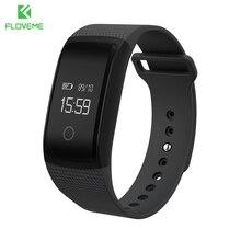 Floveme умный группа фитнес-трекер смарт браслет heart rate monitor oled умный браслет smartband фитнес-smart watch браслет