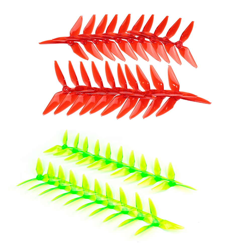 20pcs Kingkong 5051 3-blade CW CCW Propeller 5.0mm Mounting Hole for RC Racing Quadcopter DIY Drone FPV Racer (10 Pairs ) f09166 10 10pcs cx 20 007 receiver board for cheerson cx 20 cx20 rc quadcopter parts
