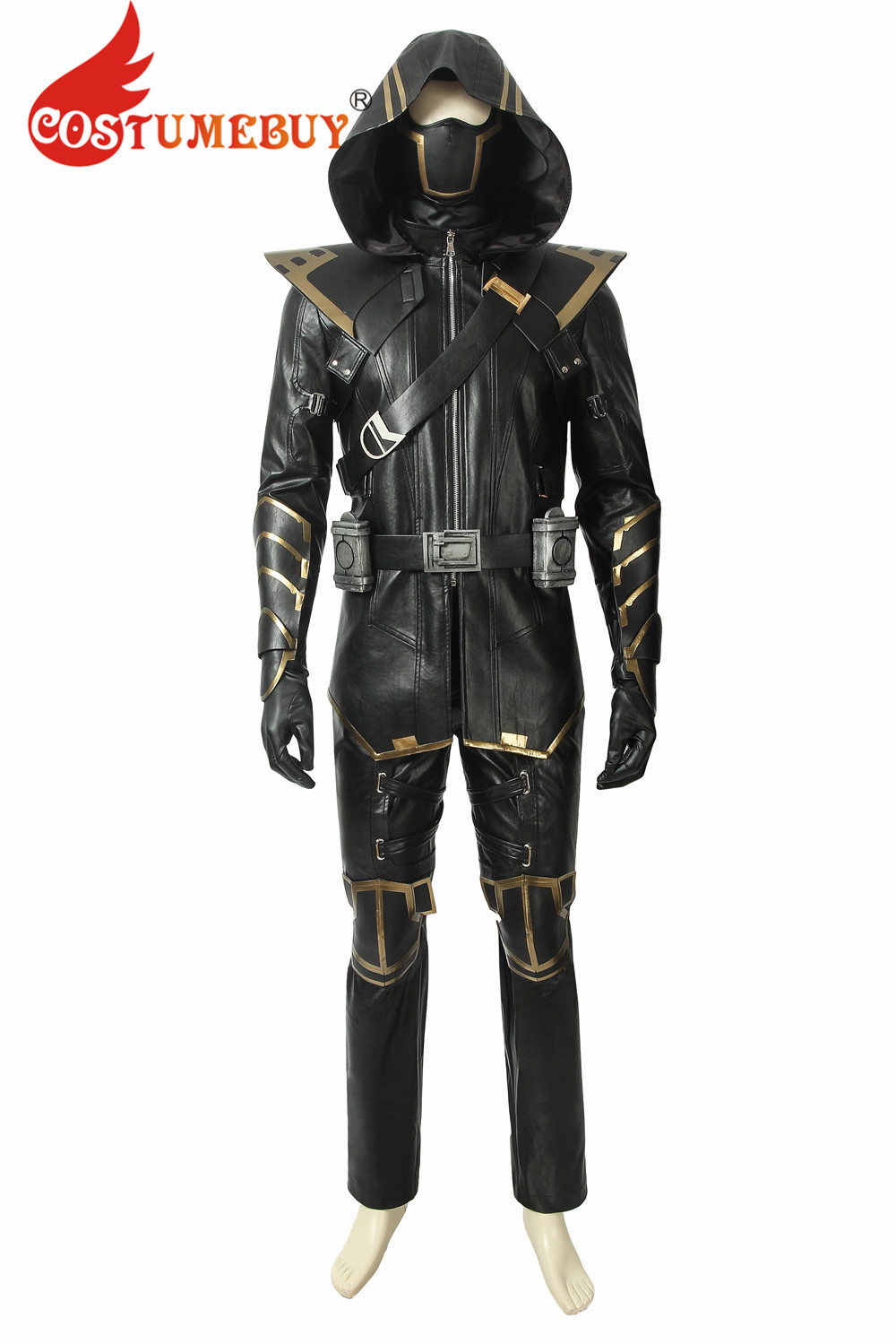CostumeBuy Avengers Endgame Clinton Barton Hawkeye Ronin Cosplay Costume Adult Man Fancy Dress Full Suit Halloween