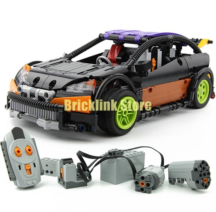 LEPIN 20053 Genuine New Technic Series The Hatchback Type R Set MOC-6604 Building Blocks Bricks Educational Toys Boy Gifts Model