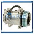 98597 Sanden compressor for Volvo/Kenworth/Caterpillar/Freightliner/Peterbilt/Mack Trucks 206RD51M SD4883 20514024 M6X0062