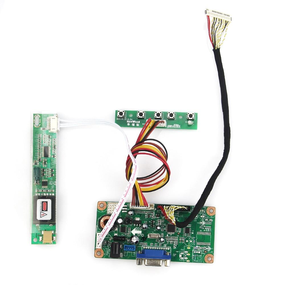Lvds Monitor Wiederverwendung Laptop 1400x1050 vga Eingang Für N150p5-l01 Lp150e06 Control Fahrer Board a2
