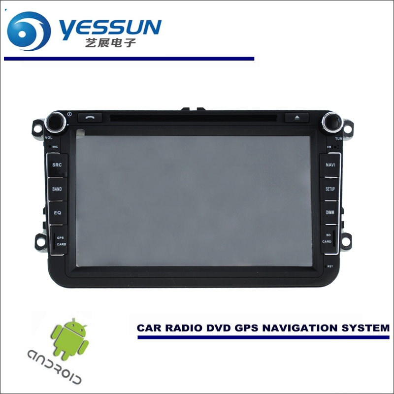 YESSUN Car Android Navigation Radio CD DVD Player GPS Navi HD Screen Multimedia - For Volkswagen VW Touran / Golf MK5 2003~2015