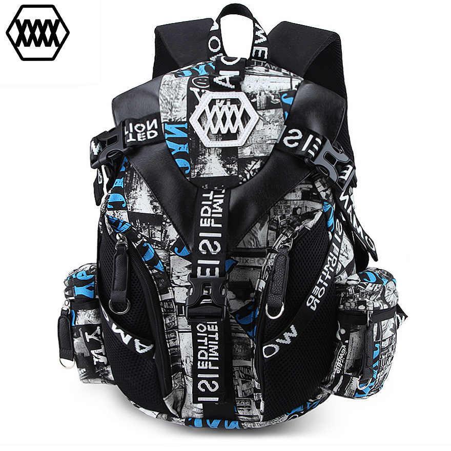 Mochila para ordenador portátil Crossten de alta calidad de 14-15 pulgadas mochila impermeable mochila de viaje para hombre