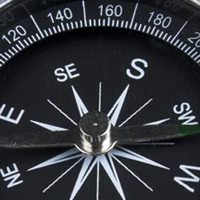 1pc Pocket Mini Camping Hiking Compasses Lightweight Aluminum Outdoor Travel Compass Navigation Wild Survival Tool Black