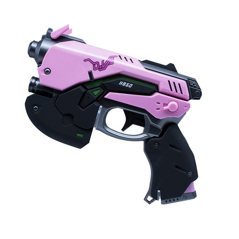 Pistolet pour Cosplay D. va pistolet Dva avec lumière LED Hana chanson D. va accessoires Cosplay miséricorde Pachimari
