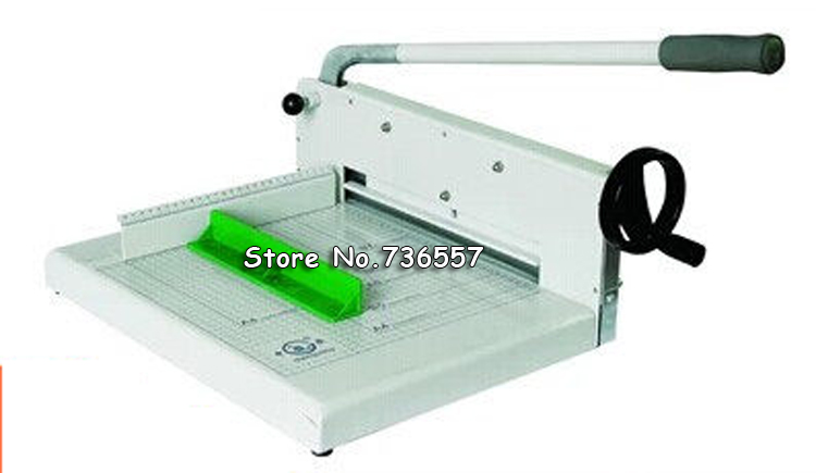 Fast Free Shipping Heavy Duty All Metal Ream Guillotine A4 Size Stack Paper Cutter Paper Cutting Machine