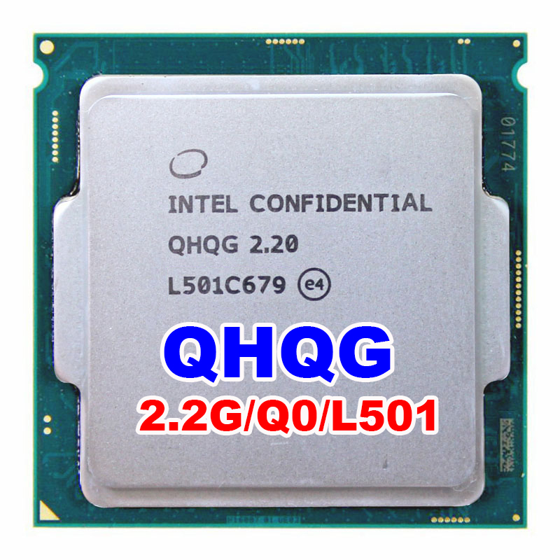 INTEL QHQG Engineering Version ES Of I7 2.2G 65W Quad Core Quad-core 8thread Can Overclocking To 3.5G Surpass I7 6700 3.4G