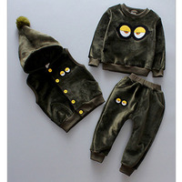 Kids Clothes Boys Sets 2019 Toddler Boys Clothing Thicken Girls Clothes Fashion Children Clothing Toddler Girls Winter Clothing
