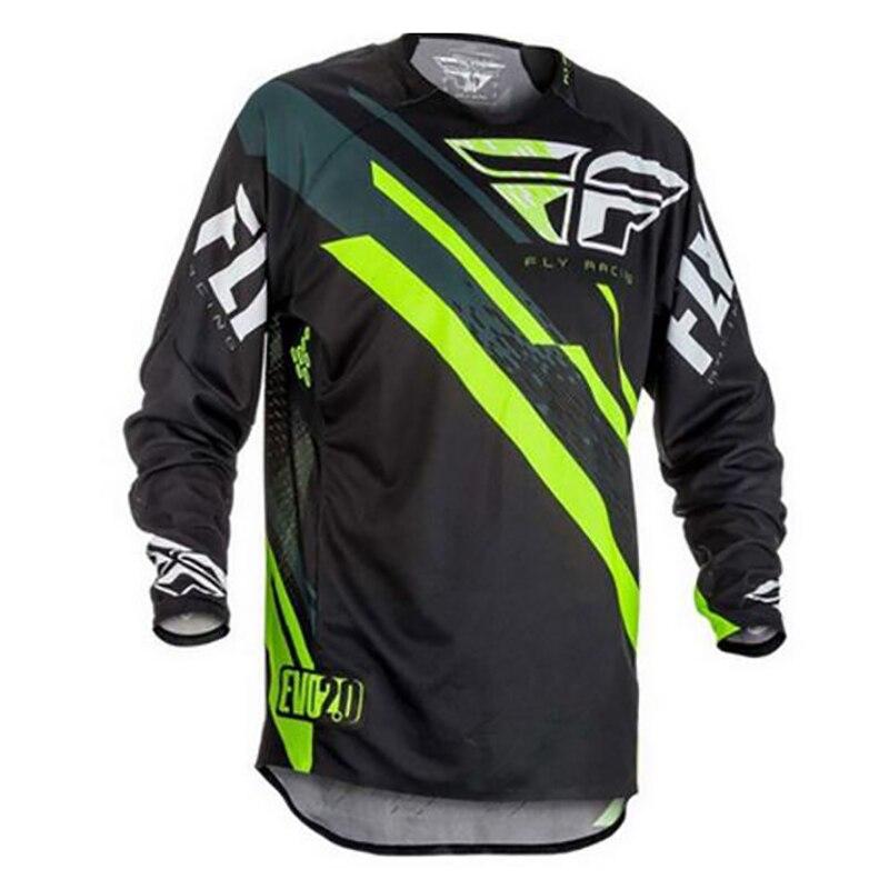 Оптовая продажа Moto rcycle для верховой езды Moto Джерси MX MTB Off Road горный велосипед DH Велосипедный Спорт Moto Джерси DH BMX Moto крест джерси Camiseta