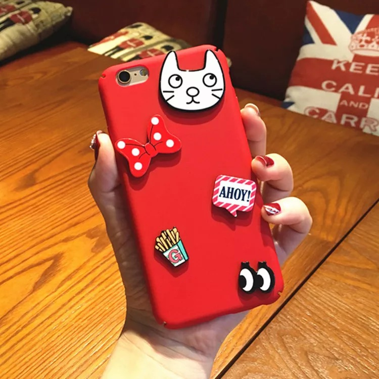 Detail Feedback Questions about Hard Full PC 3D Cat Bow Cartoon Patch Phone  Case For Vivo V5 V5S Back Cover Shell For Vivo Y69 V7 V7 Plus Cover For Vivo  V5 ... be44a60bfa48