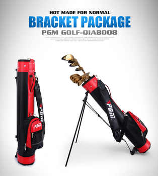 PGM Rack Golf Bag With Bracket Gun Bag For Men And Women 6 Colors Can Hold 9 Clubs Support A4756