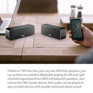 Image 5 - MIFA A20 אלחוטי נייד מתכת Bluetooth רמקול עם Handfree TWS מים הוכחה IPX4 30W רמקול כוח עם בס רמקול