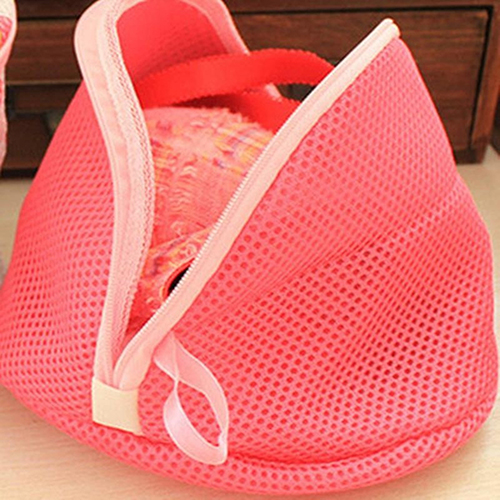 Durable Folding Washing Bag Shape Underwear Bra Protection Laundry Bag 09WG