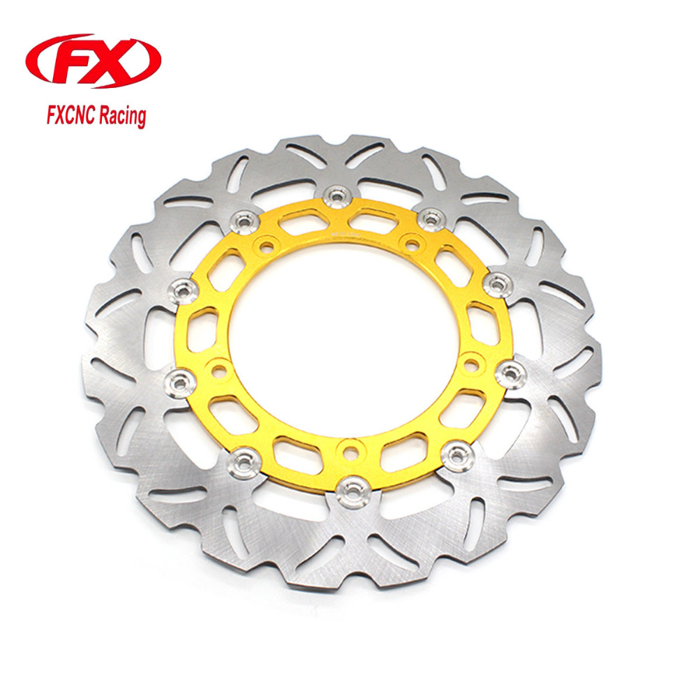 Motorcycle 300mm Floating Front Brake Disc Disks Rotor For YAMAHA YZF R15 2015 Motorbike Front Brake Disc Disks Rotor keoghs mosda motorcycle brake disc brake rotor floating 260mmdiameter for yamaha scooter bws cygnus front disc replace modify