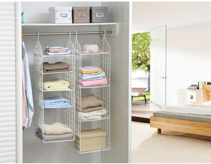 DIY Clothes Rack Storage Rack Multifunction Foldable Underwear Storage  Organizer Closet Hostel Bag In Storage Holders U0026 Racks From Home U0026 Garden  On ...