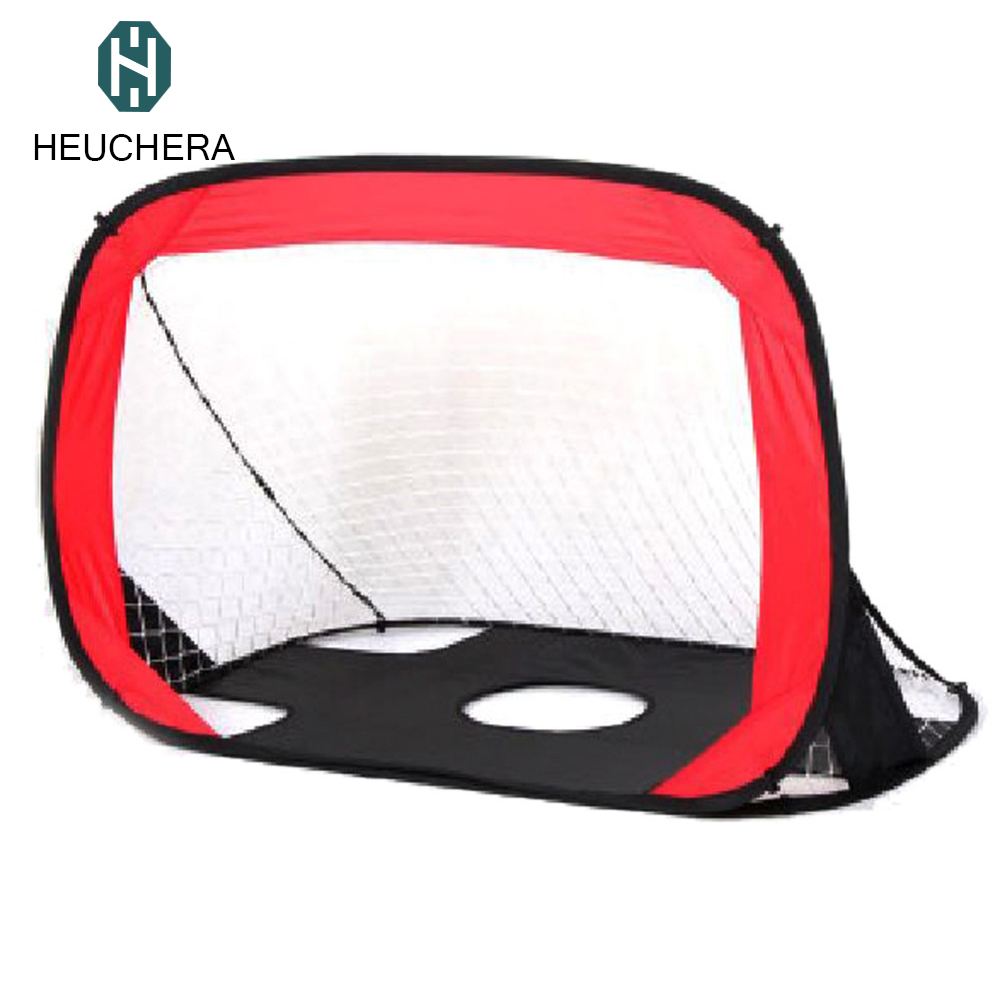Hot sales Portable Folding Children Football Goal Door Set Football Gate Outdoor Sports Toys Kids Soccer Door Set Cool Gifts folding soccer goal portable child pop up soccer goals for kids sports training backyard playground outdoor sports high quality