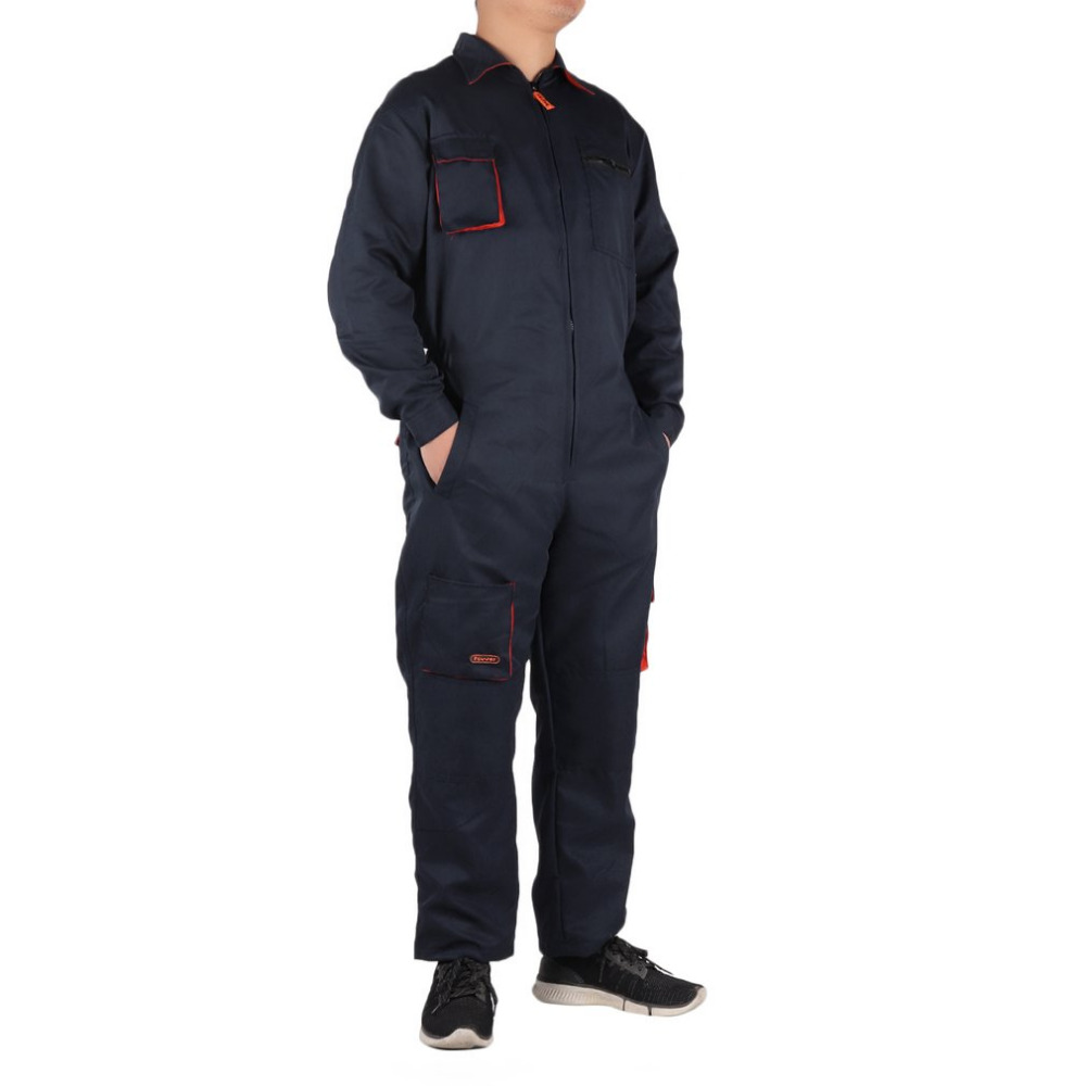 Comfortable Men Woman Work Conjoined Pants Suit Coverall Boiler Suit Auto Repair Construction Machinery Workshop Overall