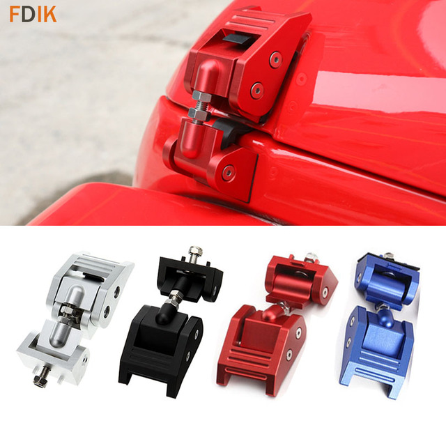 Metal Engine Hood Latch Lock Catches Kits For Jeep Wrangler Jk Unlimited Rubicon 2008 2009 2010 2017 2016