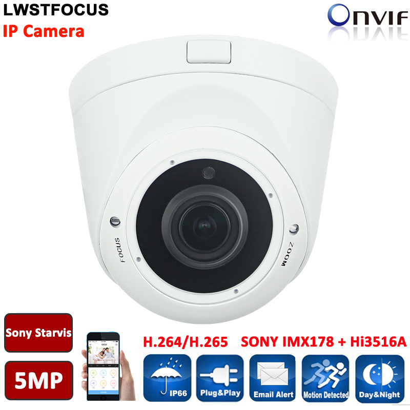 5MP Super HD 2592 x 1944P Network PoE Outdoor Indoor Security Dome IP Camera with HD 6MP 3.6mm Lens Support Hikvision Protocal 5mp super hd 2592 x 1944p network poe outdoor indoor security dome ip camera with hd 6mp 3 6mm lens support hikvision protocal