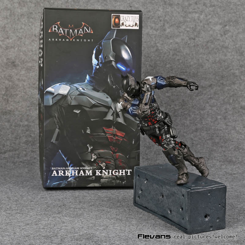 Crazy Toys Batman Arkham Knight PVC Action Figure Collectible Model Toy 14cm/18cm neca dc comics batman arkham knight batarang replica action figure with light collectible model toy