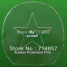 4x 61second резина на ракетки для настольного тенниса, защитная пленка