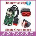 Качество + + +! один Зеленый ПЕЧАТНОЙ Платы с Bluetooth Автоматический диагностический Сканер NEC Чип CDP PRO с полный программное обеспечение + Крышка Случая!