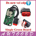 Quality A+++! Single Green PCB Board with Bluetooth Auto diagnostic Scanner NEC Chip CDP PRO with full software +Cover Case !