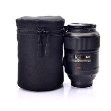 Per Nikon Canon Sony Fuji Pentax Panasonic Custodia protettiva di Alta Qualità Impermeabile Borsa Morbida Camera Lens Pouch