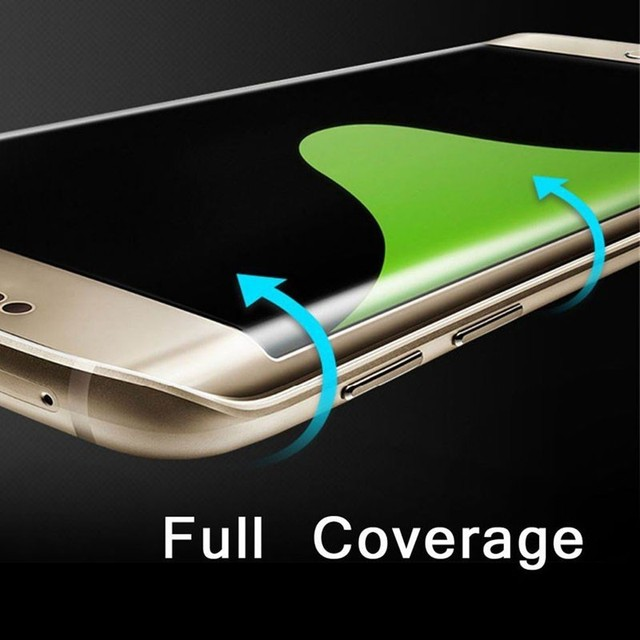 Scratch-proof PET Full Covering Bending Screen Protector For Samsung S6Edge S6EdgePlus S7 S7Edge