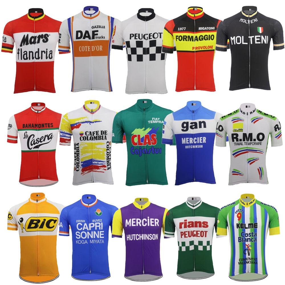 6de7324c0c Los hombres de manga corta jersey de Ciclismo ropa Ciclismo bicicleta  jersey desgaste ropa de Ciclismo maillot de la bicicleta al aire libre ropa