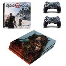 God of War 4 PS4 Pro Skin Sticker Vinyl Decal Sticker