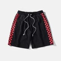Summer Hot Selling Hip Hop Streetwear Mens Short Basketball Wear Sports Wear Jogger Shorts Loose Knee Length Shorts Men Fitness