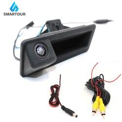 Smartour caméra de recul de voiture 140 degrés grand Angle HD recul vue arrière pour BMW E82 E88 E84 E90 E91 E92 E93 E60 E61 E70