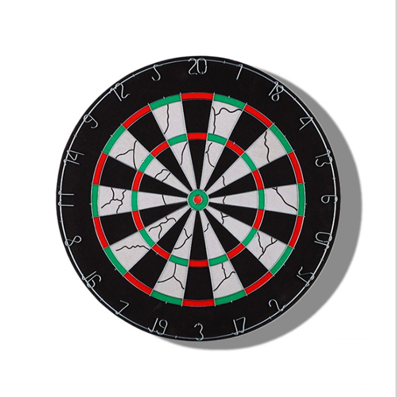 Dartboard Flocked Wire Disc Paper Target Darts Set 6 Iron Darts williams amstrad disc companion paper only