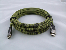 Version 1.4 Fully compatible with 3D high-definition HDMI cable 5M 16ft
