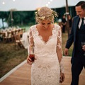 Classic Lace Long Sleeves V Neck Mermaid Wedding Dresses 2016 Vintage Wedding Gowns