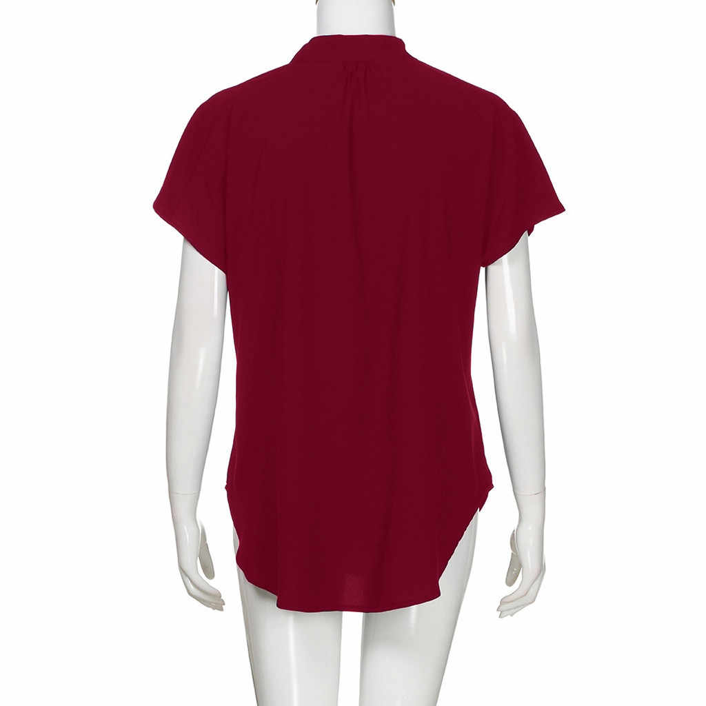 חולצה נשים בגדי 2019 חולצות טוניקת גבירותיי חולצות קוריאני קיץ חולצות מזדמנים בגדים haut femme blusas mujer דה moda 2019