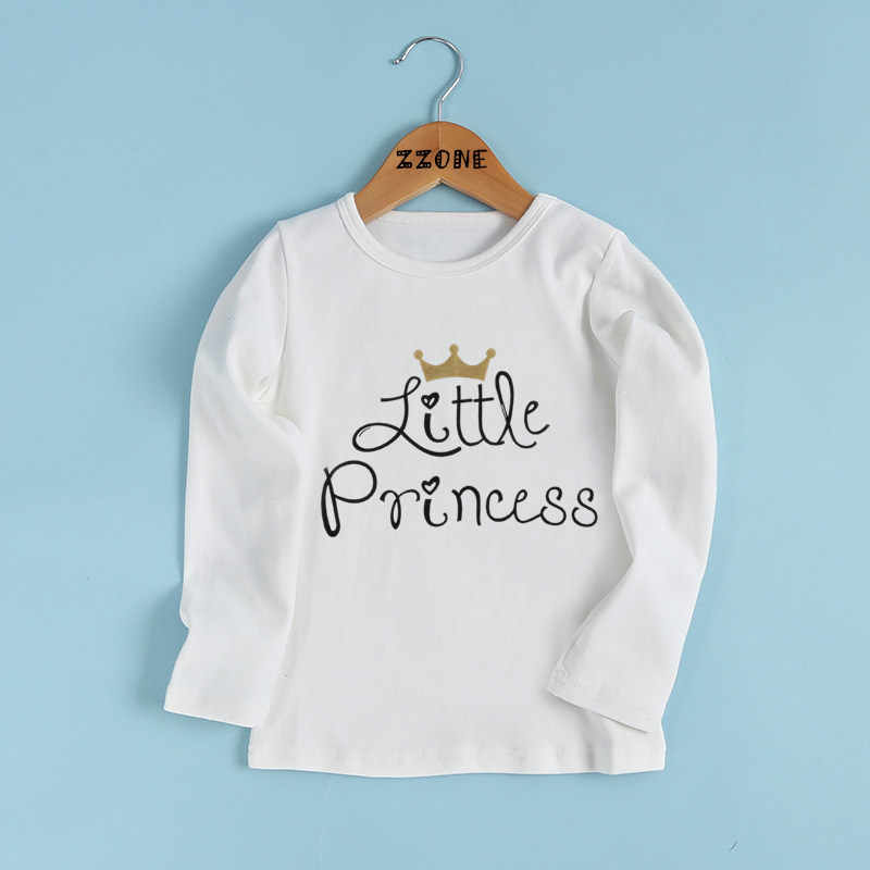 1db61842 Boys/Girls Daddy's Little Princess Letter Print T shirt Kids Casual Funny  Clothes Baby Summer