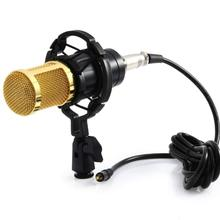 promotion original new isk bm 800 professional recording microphone condenser mic for studio and broadcasting without carry case BM 800 karaoke microphone studio condenser mikrofon BM800 mic For KTV Radio Braodcasting Singing Recording computer bm-800