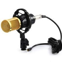 BM 800 karaoke microphone studio condenser mikrofon BM800 mic For KTV Radio Braodcasting Singing Recording computer bm-800