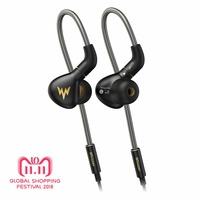 Whizzer A15 Pro Dynamic Earphone HiFi Hi Res Pure Clear Balanced Sound Metal In Ear Earbuds with MMCX Cable Official Store
