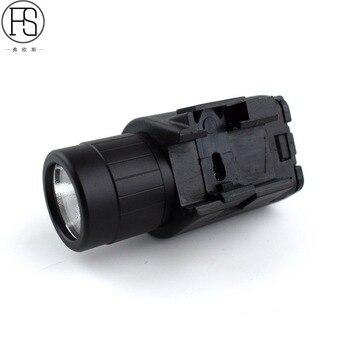 Laser Flashlight Combo For Pistol | 2 In 1 Tactical Combo Flashlight Red Laser Sight Picatinny Rail Fit Glock Pistol For Shotgun Hunting