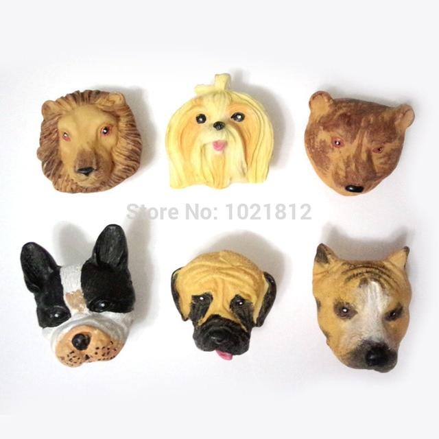 Creative Resin Cartoon Cabinet Knob Dog Head Cupboard Closet Knob Handle  Pulls Knob Childrenu0027s Room Improvement